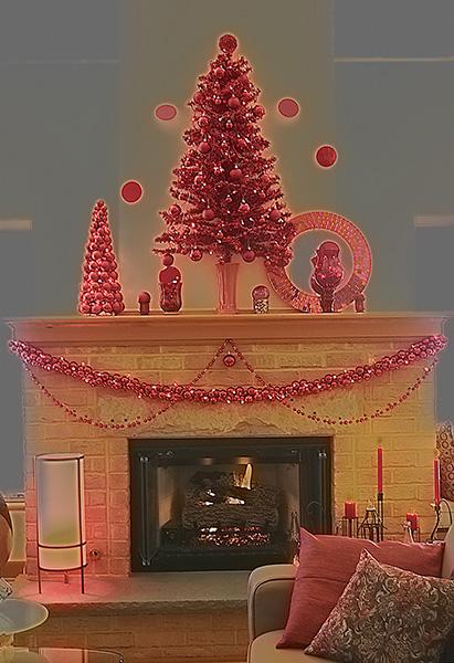 Image of Happy Holidays Light Painting