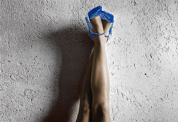 Image of All American Legs (Blue) Light Painting