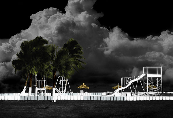Image of Childrens Paradise Light Painting