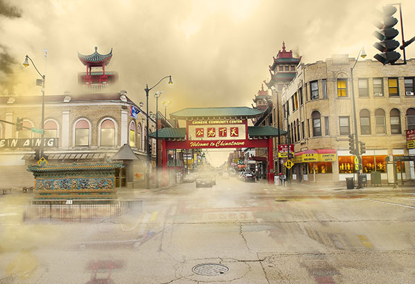 Image of ChinatownLight Painting
