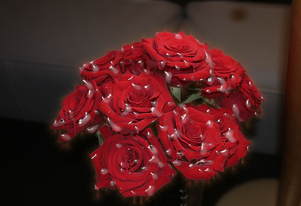 Image of Crying for Red Roses Light Painting