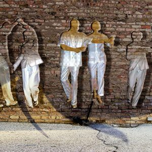 Image of Dancing Off the Wall Light Painting