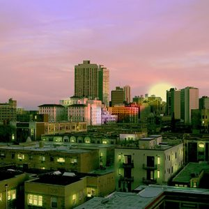 Image of Emerald City Light Painting