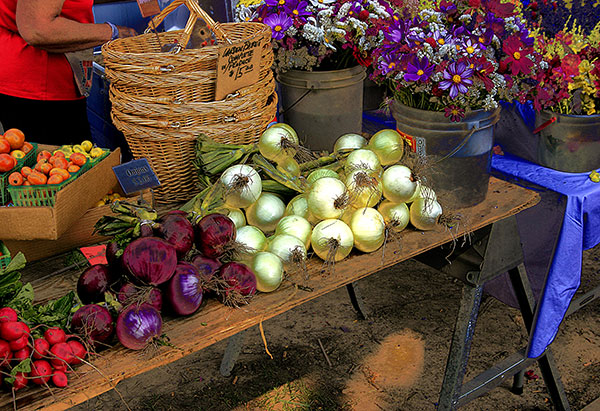 Image of Farmers Market Light Painting