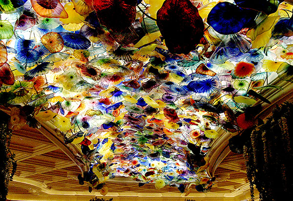 Image of Infamous Glass Ceiling Light Painting