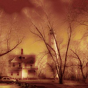 Image of Light House Light Painting