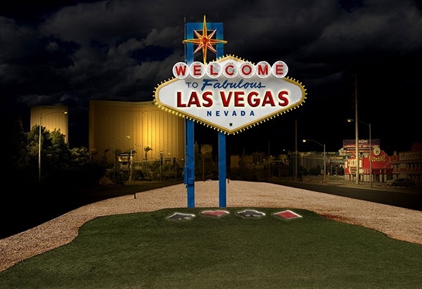 Image of Welcome to Las Vegas Light Painting